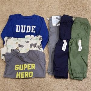 NWT 18 month boy bundle